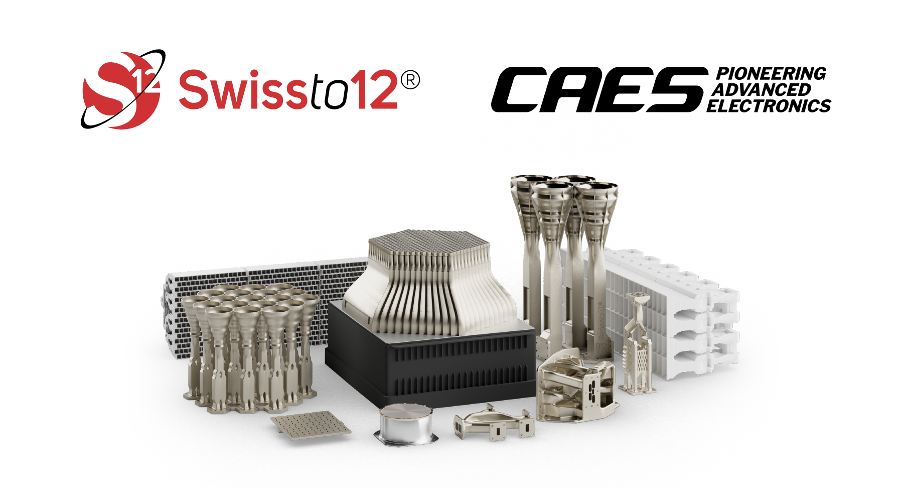 CAES and SWISSto12 Launch Strategic Alliance for 3D Printed RF Technology