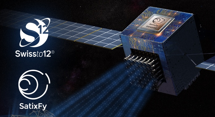 SWISSto12 and SatixFy team up on advanced payloads for MEO and GEO telecom satellite programs